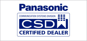 Panasonic Certified Dealer